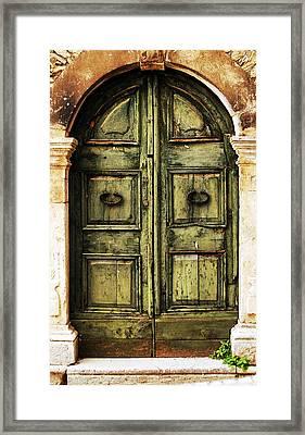 European Door II Framed Print by Jason Evans
