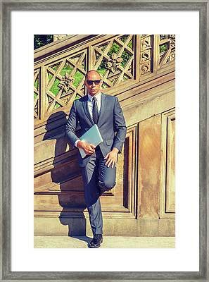 European Professional Travels, Works In New York Framed Print
