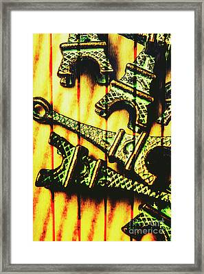 European Wall Art Framed Print