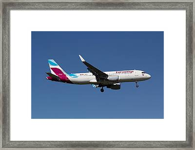 Eurowings Airbus A320 Framed Print