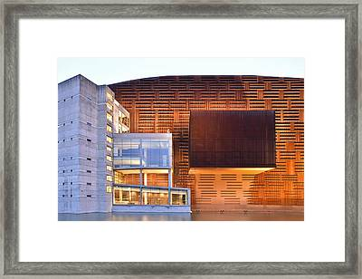 Euskalduna Center Bilbao Spain Framed Print by Marek Stepan