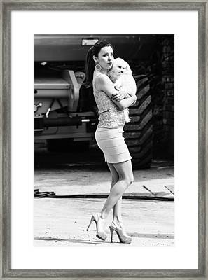 Eva Longoria Framed Print