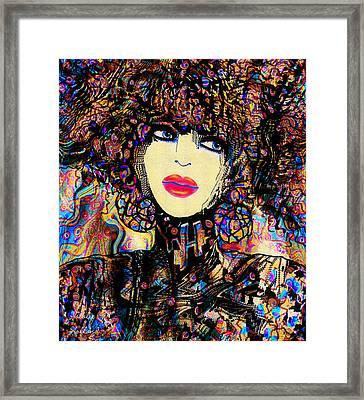 Evangelina Framed Print
