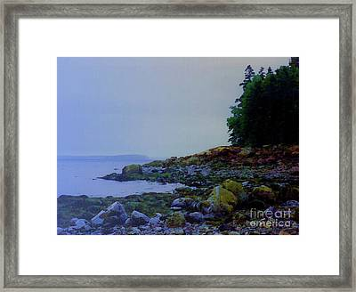 Eve At The Mount Framed Print by Desiree Paquette