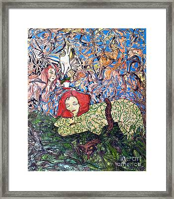 EVE Framed Print by Morgan Long