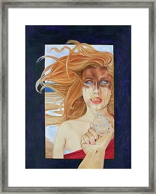 Eve, My Daughter Framed Print by Elise Aleman