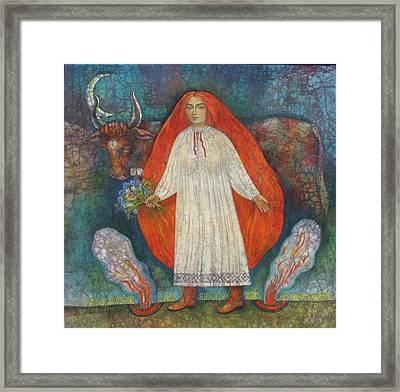 Eve Of Ivana Kupala Framed Print by Tanya Ilyakhova