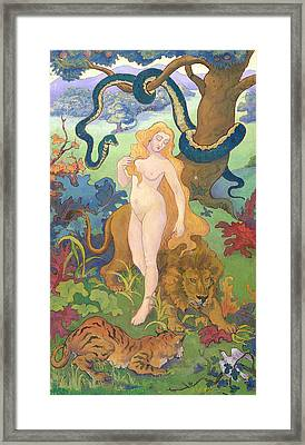Eve Framed Print by Paul Ranson