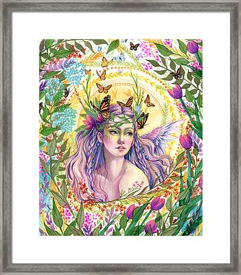 Eve Framed Print by Sara Burrier