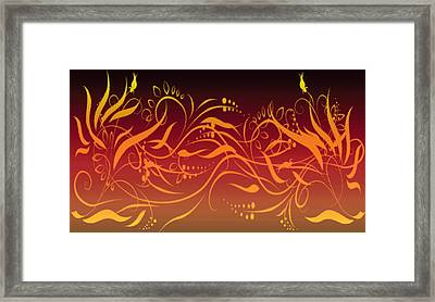 Eve Style 1 Framed Print by Evelyn Patrick