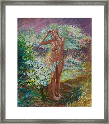 Eve Framed Print by Tomas OMaoldomhnaigh