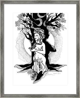 Eve Framed Print