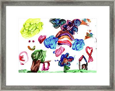 Evelyn Y Framed Print by Evelyn Y