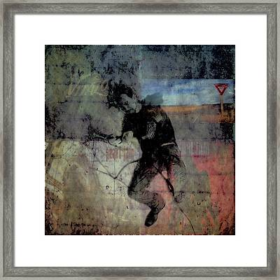 Even Flow Framed Print by Joel Witmeyer