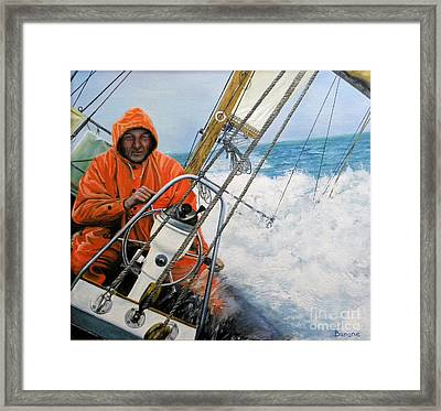Even-keeled Framed Print by Richard Barone