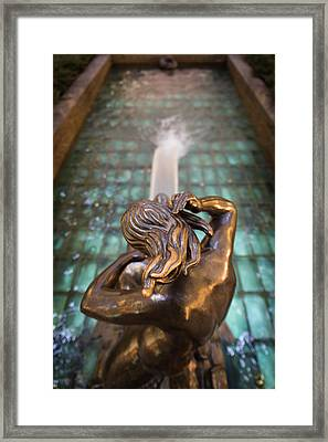 Framed Print featuring the photograph Even Statutes Spit by Lora Lee Chapman