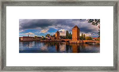 Evening After The Rain On The Ponts Couverts Framed Print