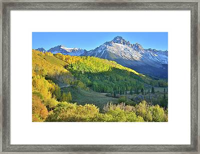 Framed Print featuring the photograph Evening Along County Road 7 by Ray Mathis