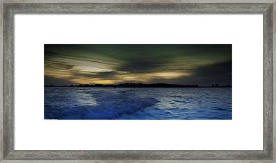 Evening Approaches  Framed Print by Debra Forand