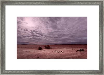 The Beginning II Framed Print by Julian Cook