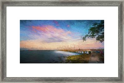 Evening At Ballast Point Framed Print by Marvin Spates