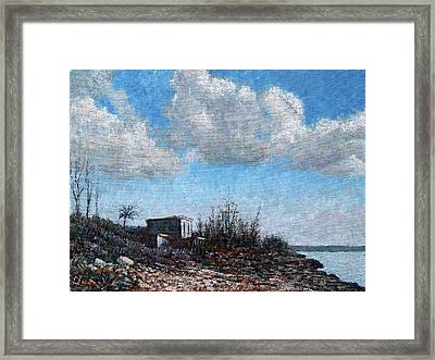 Evening At Current Ridge Framed Print