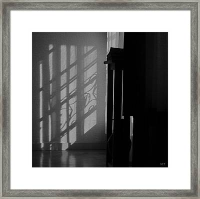 Evening At Home Framed Print by Susan Eileen Evans
