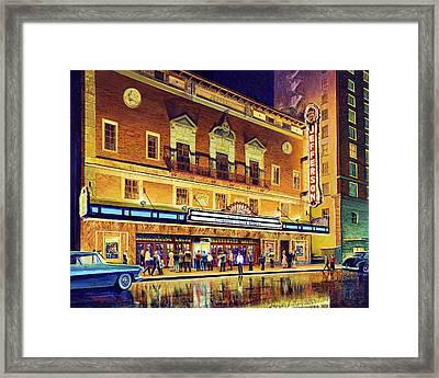 Evening At The Jefferson Framed Print
