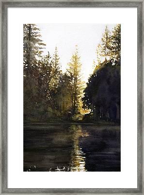Evening Framed Print
