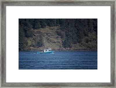 Evening Breeze Framed Print by Randy Hall