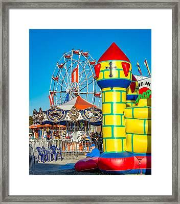 Evening Carnival 2 Framed Print