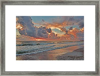 Evening Clouds Framed Print by HH Photography of Florida
