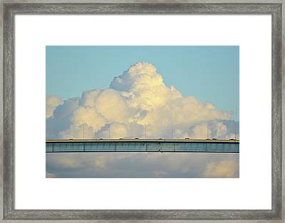 Evening Commute Framed Print