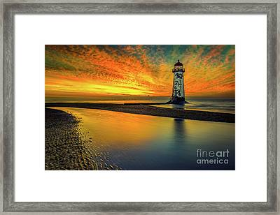 Framed Print featuring the photograph Evening Delight by Adrian Evans