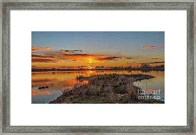 Framed Print featuring the photograph Evening Delight by Robert Bales
