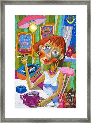 Evening Dream Framed Print by Yuriy  Shevchuk