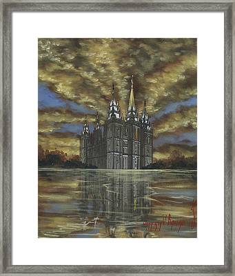 Evening Glory Framed Print by Jeff Brimley