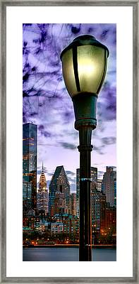 Evening Glow Framed Print by Az Jackson