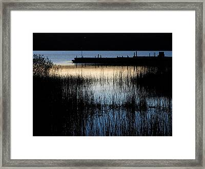 Evening Glow Framed Print by Mary Wolf