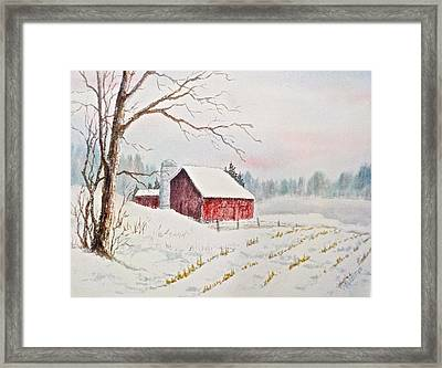 Evening Hush Framed Print