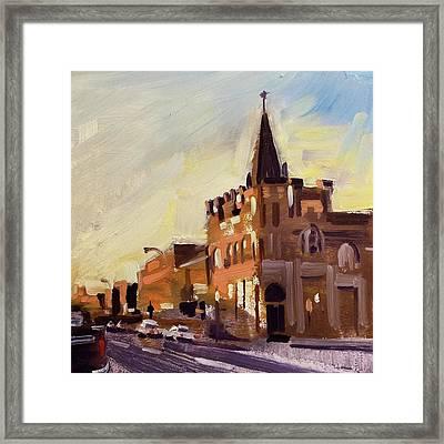 Evening In Fairfield Framed Print