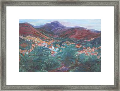Evening In Guanajuato Framed Print