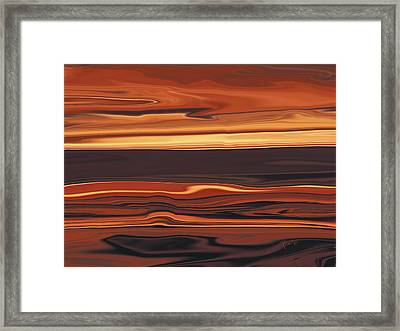 Evening In Ottawa Valley 1 Framed Print by Rabi Khan