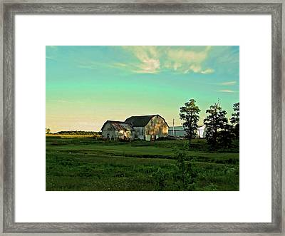 Evening In Raintree County Framed Print by Mark Orr
