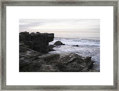 Framed Print featuring the photograph Evening Light by Carol  Bradley