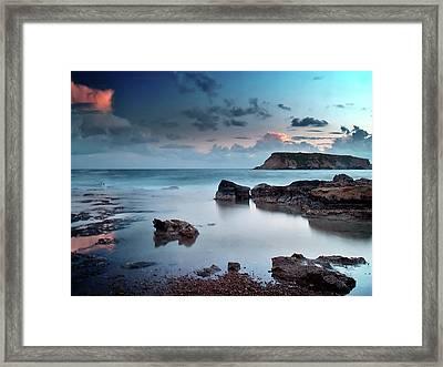 Evening Light On St. Georges Island Framed Print by Amanda Finan