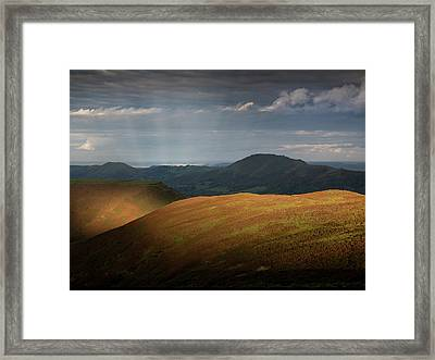 Evening Light Framed Print by Richard Greswell