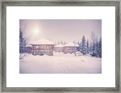 Evening Light Framed Print by Svetlana Sewell