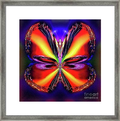 Evening Mangospark Framed Print