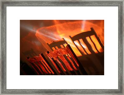 Evening Meal 2 Framed Print by Jez C Self